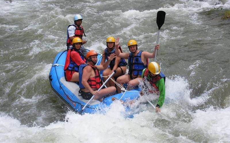 Rafting + Flying Fox Tour