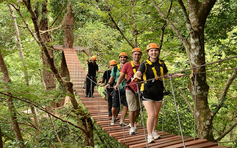 Hanuman World Phuket Zip line Tour 16 Platforms + Sky Walk