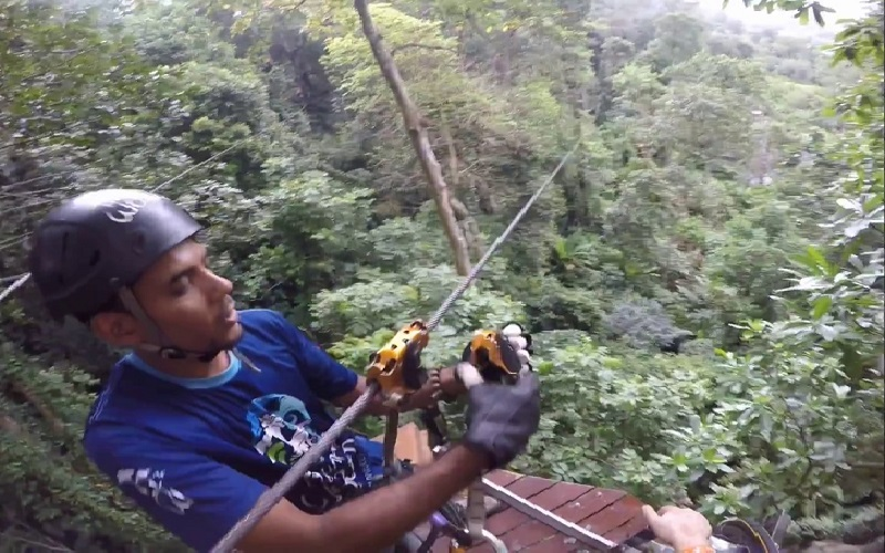 Hanuman World Phuket Zip line Tour 07 Platforms + Sky Walk