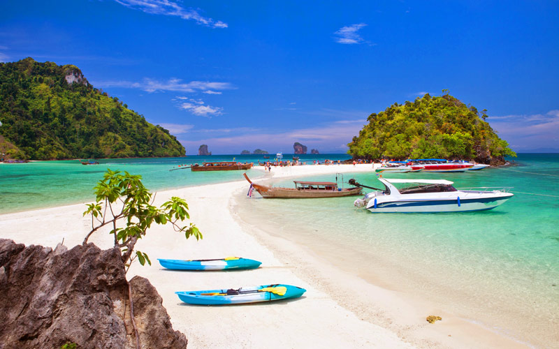 Krabi 4 Islands Snorkeling Tour by Big Boat and SpeedBoat