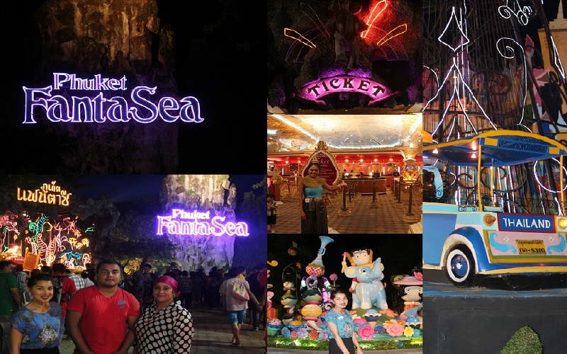 Phuket FantaSea Show Regular Ticket + Seafood Buffet Dinner
