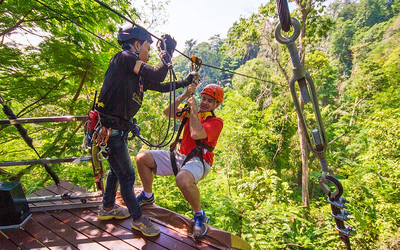 Flying Hanuman Phuket Tour - Full adventure (B)