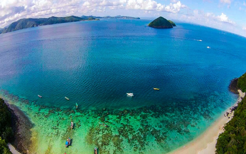 Coral Island Full Day Regular Tour by Speedboat
