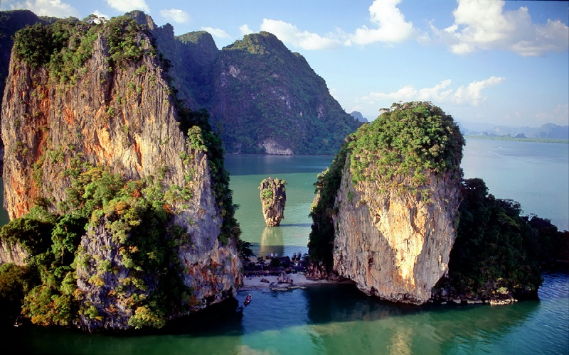 2D/1N - Phi Phi+Krabi+J. Bond - Overnight Deluxe Tour by Speedboat