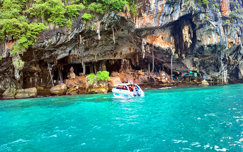 Phi Phi + Khai Islands Budget Tour by Speedboat