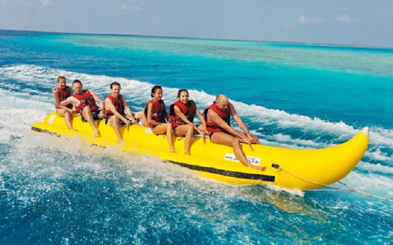 Banana Beach @ Coral Island Luxury Tour by Speedboat