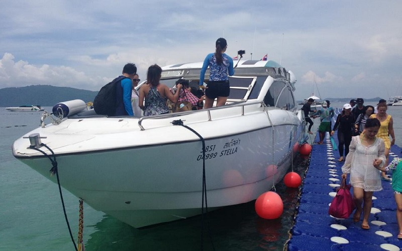 Raya + Coral Luxury Tour by Speedboat